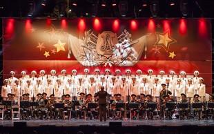 Na ruskem spektaklu v Stožicah bo nastopil tudi Tržaški Partizanski pevski zbor Pinko Tomažič