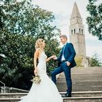 Lea Mederal: Po poročnem fotografiranju se je ulil dež (foto: Dejan Maver)