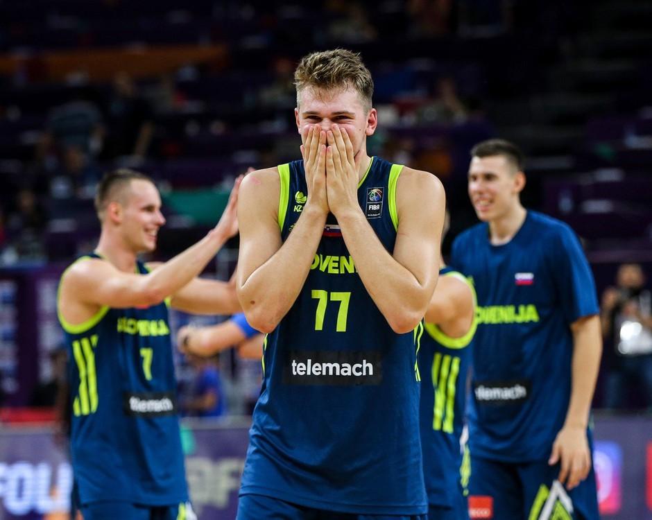 Čudežni deček Luka Dončić je naslednja velika stvar za ligo NBA (foto: profimedia)