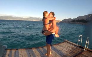 Srčna izbranka Luke Dončića se je vrnila iz ZDA in ponoči ne more spati