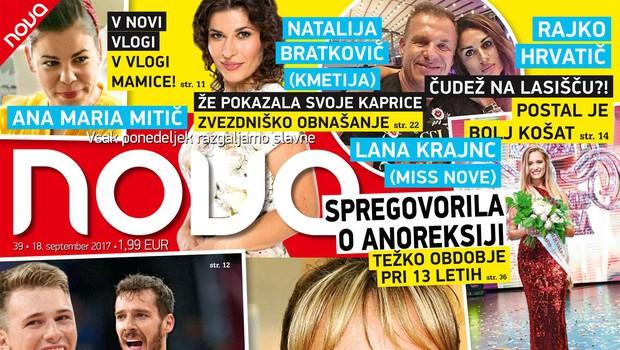 Ekskluzivno: Brigita Bukovec že živi v Švici! Več v novi Novi! (foto: Nova)