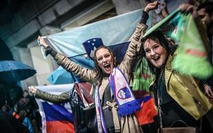 Slovensko sanjsko moštvo pred ekrane pritegnilo tudi Slovence po svetu