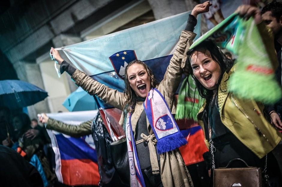 Slovensko sanjsko moštvo pred ekrane pritegnilo tudi Slovence po svetu (foto: profimedia)