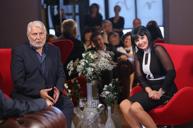 Andreja Jernejčič je na Zajtrku PR'Andreji gostila Borisa Cavazzo. (foto: Barbara Reya)