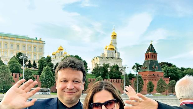 Manca in Benjamin Izmajlov rojstni dan praznovala v Rusiji (foto: osebni arhiv)