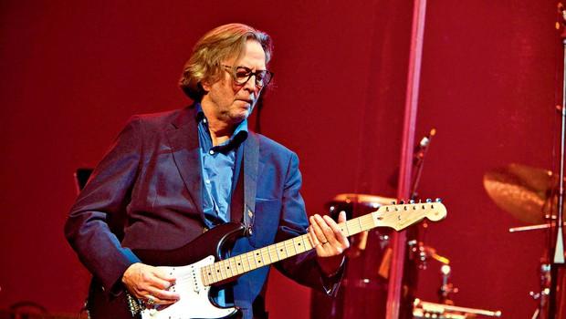 Eric Clapton je pri trinajstih dobil prvo kitaro (foto: Profimedi)