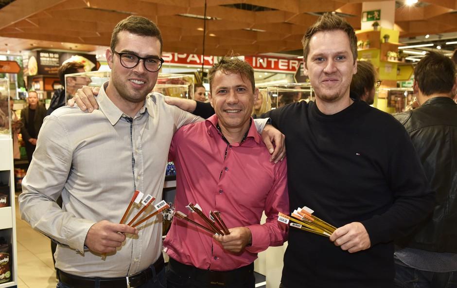 Poslovni nasvet tima, ki je na trg poslal produkt Medenka (Štartaj Slovenija) (foto: Igor Zaplatil)