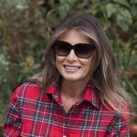 Melania Trump vrtnarila ob Beli hiši (foto: profimedia)
