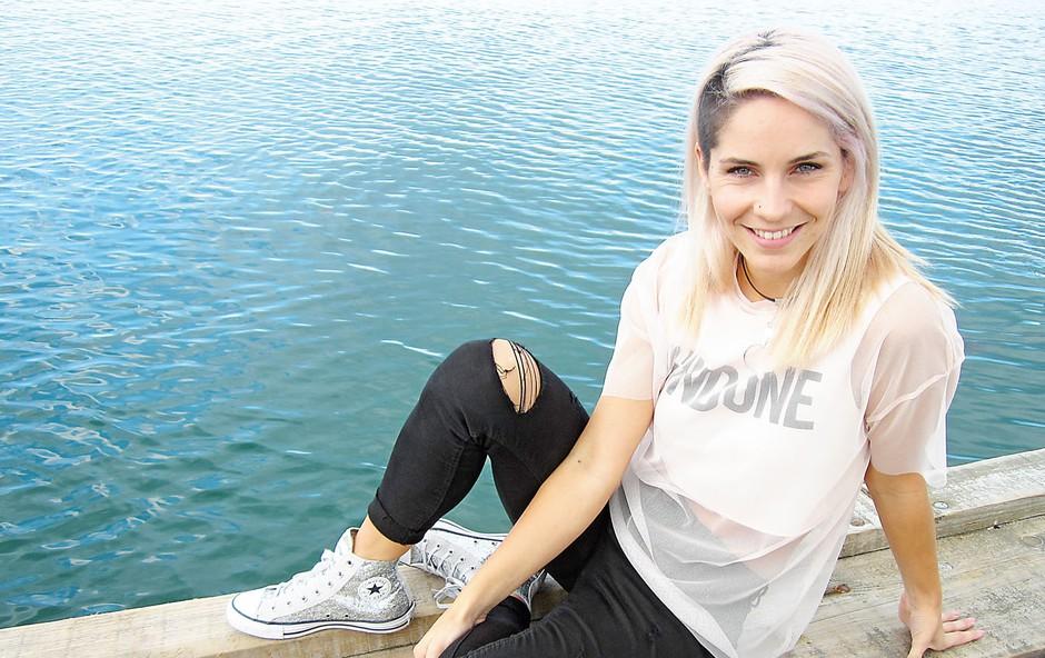 Lea Sirk se zaradi šova seli v Ljubljano (foto: osebni arhiv)