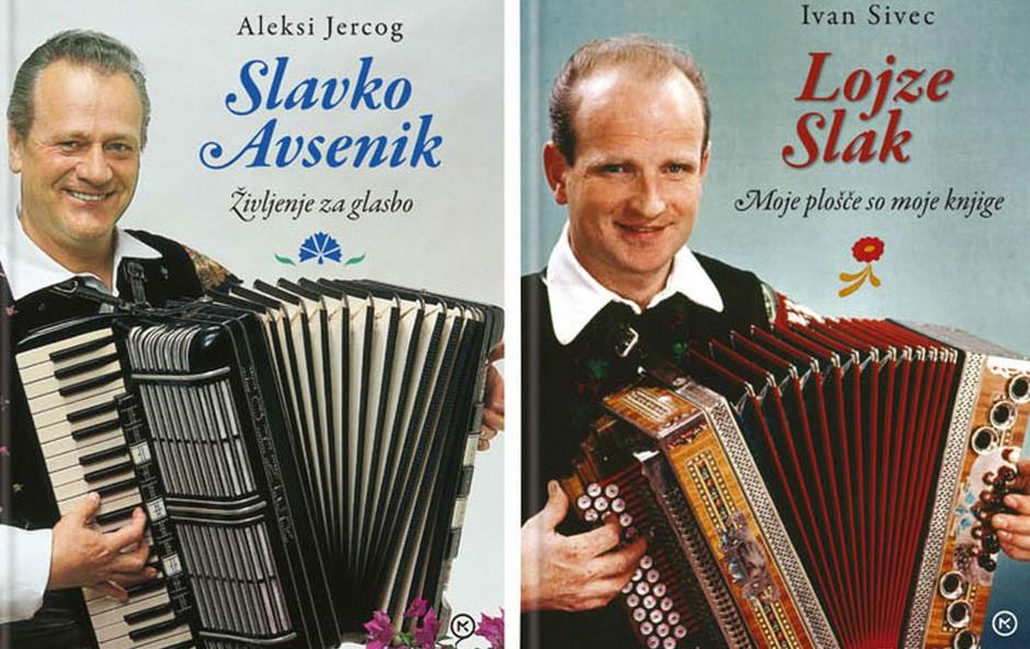 Neverjetni zgodbi Slavka Avsenika in Lojzeta Slaka (foto: Knjige Ivana Sivca)