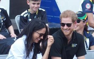Princ Harry z dekletom Meghan Markle prvič skupaj v javnosti