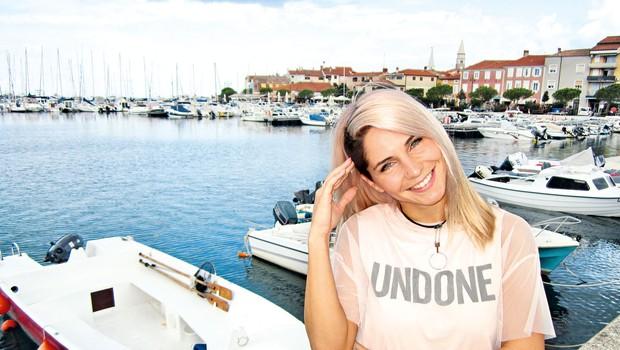 Lea Sirk priznava, da sanja o poroki (foto: Alpe)
