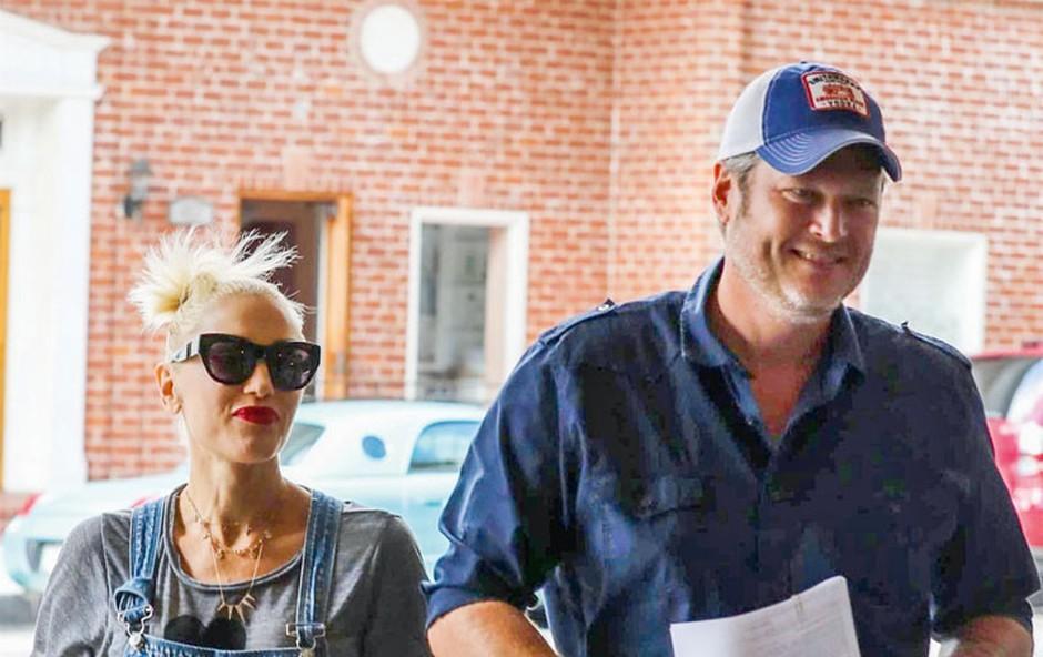 Gwen Stefani: Duet s partnerjem (foto: Profimedia)