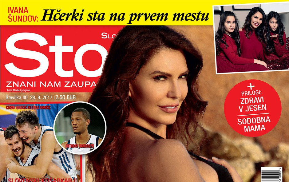 Ivana Šundov po ločitvi ni osamljena! Več v novi Story! (foto: Revija Story)