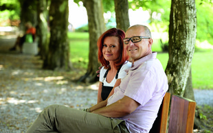 Jurij Franko in Simona Vodopivec o ljubezni, zaroki in rokenrolu