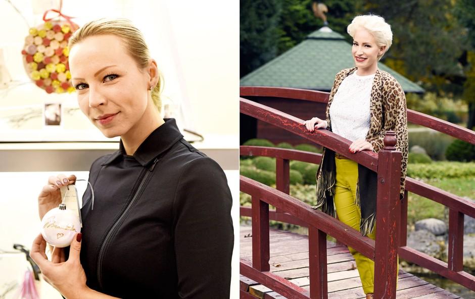 Alya in Manuela Brečko: Prijateljici kljub razdalji (foto: Igor Zaplatil)