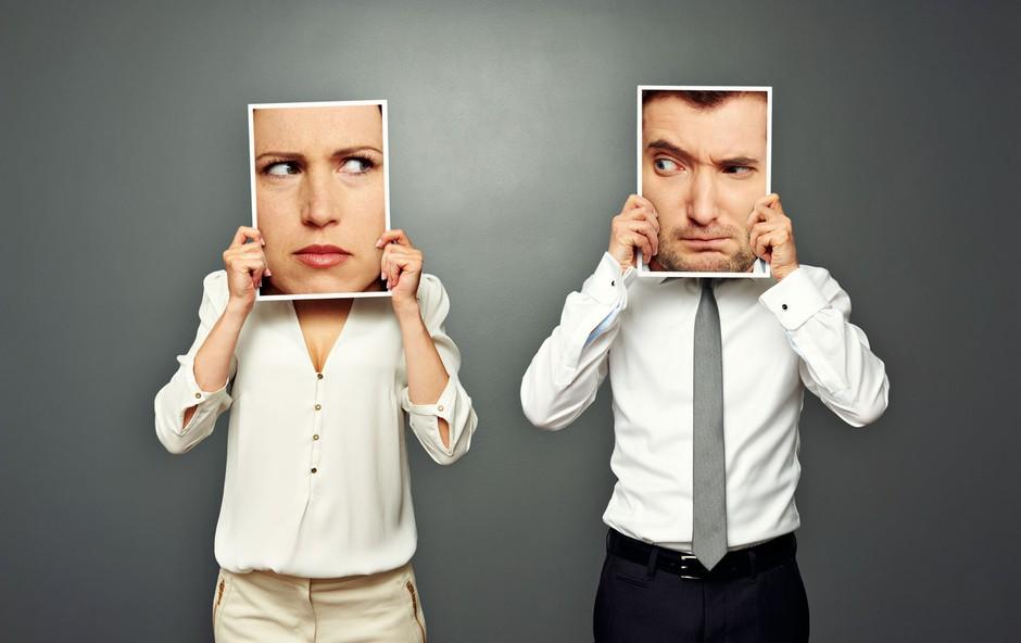 Moč oziroma nemoč v odnosu med moškim in žensko (foto: Shutterstock)