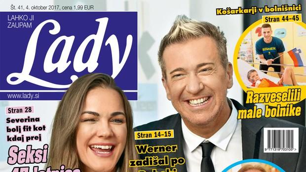V novi Lady ne zamudite: Werner dobil svoj afrodiziak! (foto: revija Lady)