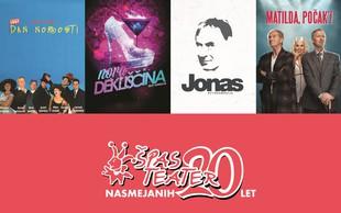 20 nasmejanih let Špas teatra