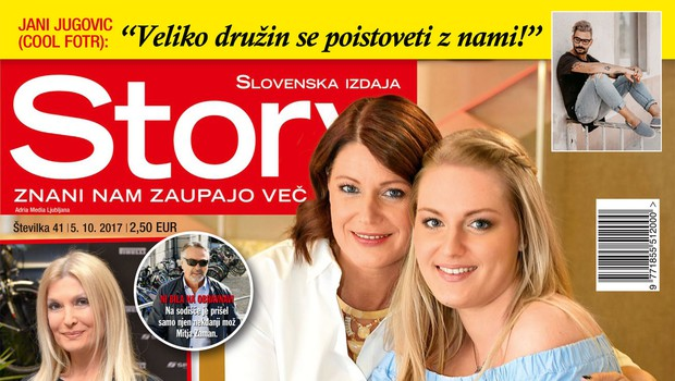 Katja Tratnik predstavila hčerko Nejo! Več v novi Story (foto: revija Story)