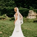Sanjska poroka Jerneje P. Zhembrovskyy: Pet poročnih oblek (foto: Tamara Vidmar Photography)