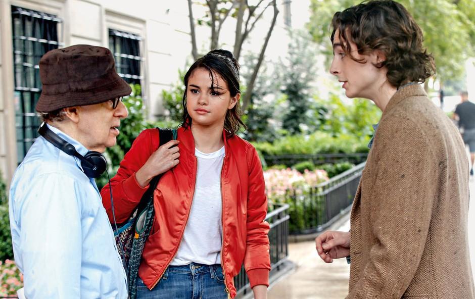 Selena Gomez snema z Woodyjem Allenom (foto: Profimedia)