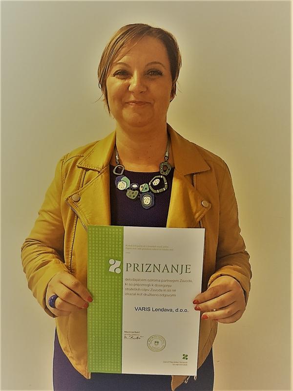 Sabina Sobočan, direktorica Varisa Lendava
