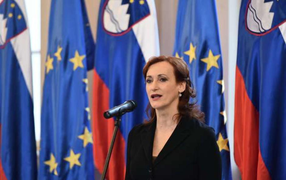 Borštnikov prstan letos prejme igralka Saša Pavček (foto: Tamino Petelinšek/STA)