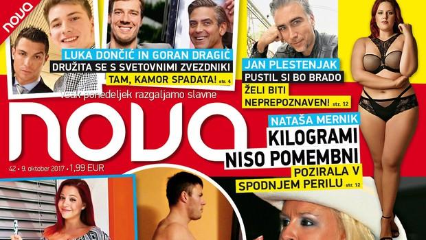 Špela Grošelj, Andrej Milutinovič in krute stare slike: Več 10 kg preveč! V novi Novi! (foto: Nova)