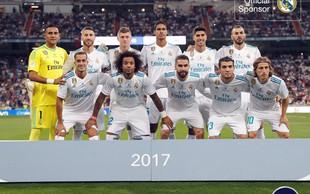 Španski nogometni klub Real Madrid ima novega močnega partnerja!