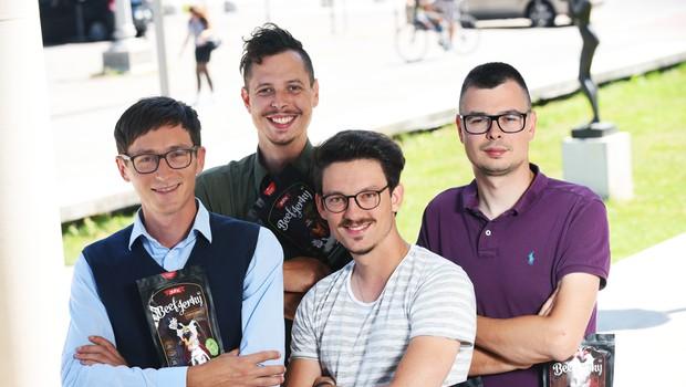 Podjetniški nasvet Klemna Gorenška - Junc Beef Jerky (Štartaj Slovenija)! (foto: Štartaj Slovenija Press)
