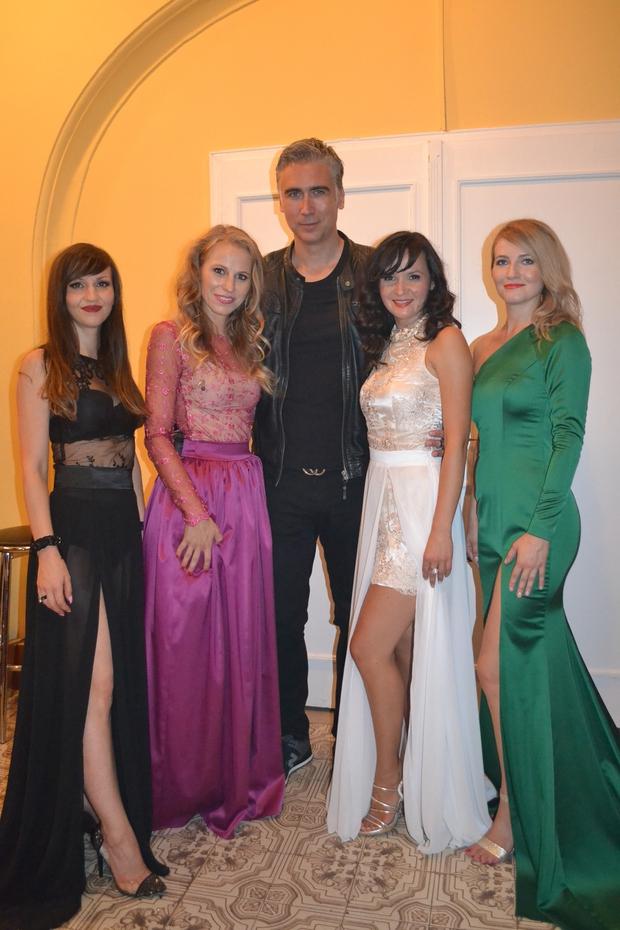 Vrhunske vokalistke iz skupine Mjav & Jan Plestenjak! (foto: Rok Tržan)