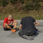Mali koraki za velik cilj: Štart pri slapu Savici uspel (foto: A kanal Pres)
