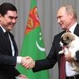 Putin od predsednika Turkmenistana prejel psička