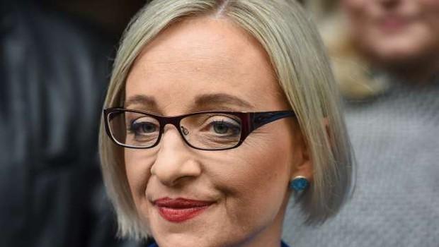 Suzana Lara Krause - predsedniška kandidatka, ki zna vložiti kumarice in skuhati marmelado (foto: Nebojša Tejić/STA)