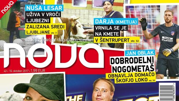 Indira in Henrik (The Biggest Loser Slovenija): Novi parček?! Več v novi Novi! (foto: Nova)