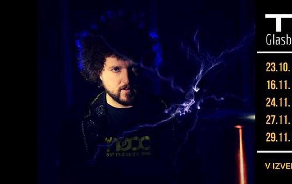 Janez Dovč predstavlja videospot za skladbo Tesla (foto: Press)