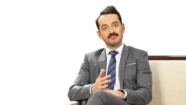 TV-voditelj Jože Robežnik pogreša malce dolgčasa (foto: Žiga Culiberg)