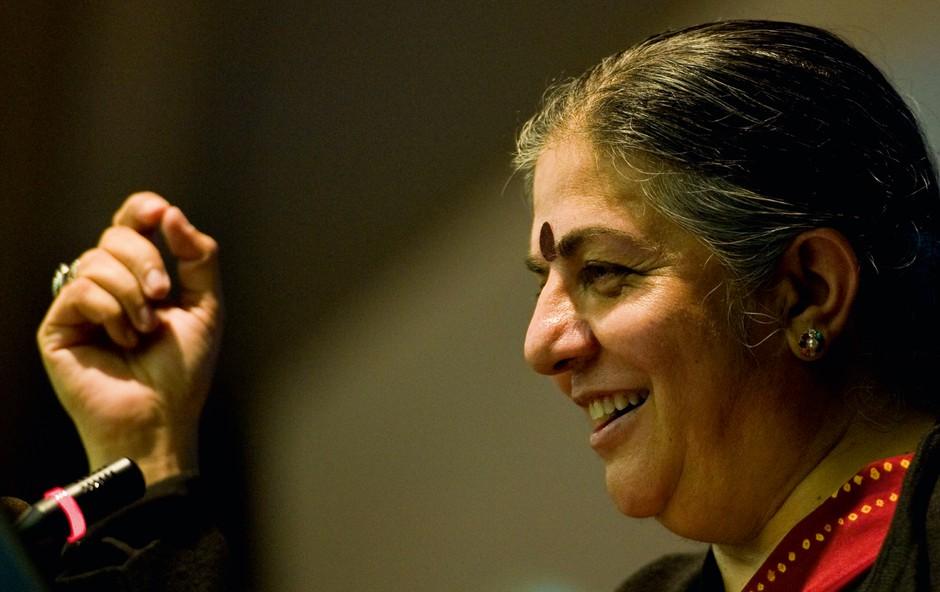 """Indijska aktivistka Vandana Shiva: """"NE gensko spremenjenim semenom!"""" (foto: Profimedia)"""