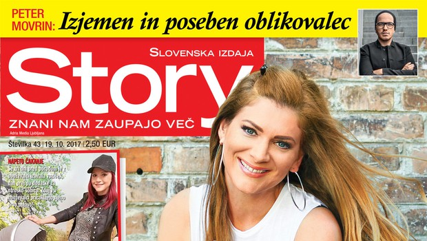 V novi Story ne zamudite: Manca Špik spregovorila o težavah z zanositvijo! (foto: revija Story)