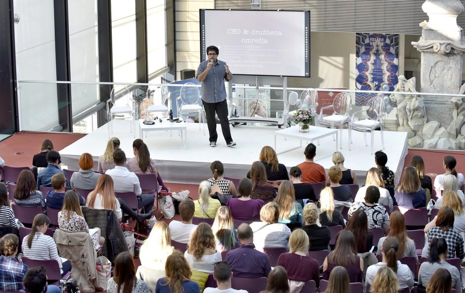 Fotoutrinki z blogerske konference za starše: Moj blog, moj drugi otrok (foto: Igor Zaplatil)