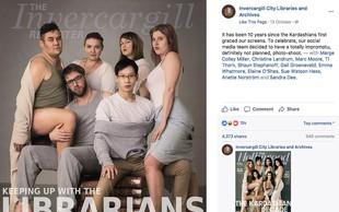 Knjižničarji iz Nove Zelandije z imitacijo slike Kardashianovih osvojili internet