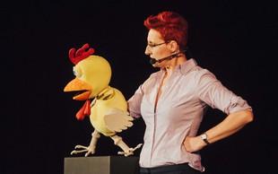 Komičarka Lucija Ćirović navdušila z monokomedijo za odrasle!