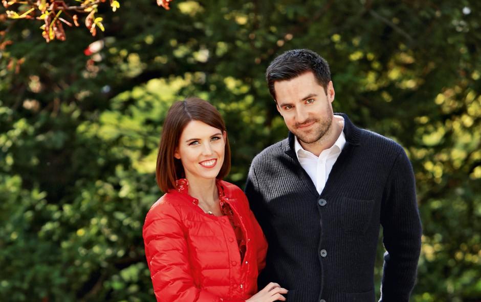 Mirko Mayer in Kaja Flisar načrtujeta družino in selitev (foto: Helena Kermelj)