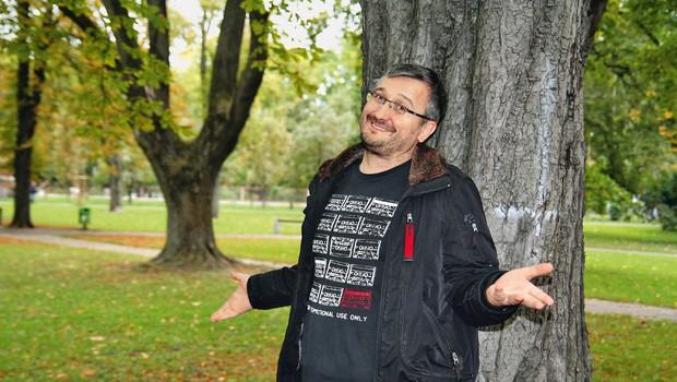 Željko Čakarević - Željkič se veseli nastopa na stand up festivalu (foto: MIMA)