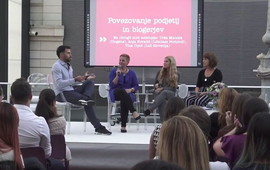 Kaj podjetja iščejo pri blogerjih? Enake vrednote so pomembnejše od lajkov! (foto: Youtube Govori se)