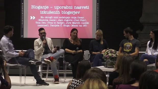 Vse o tem, kako se znani slovenski blogerji spopadajo z izzivi starševstva in bloganja (foto: Youtube Govori se)