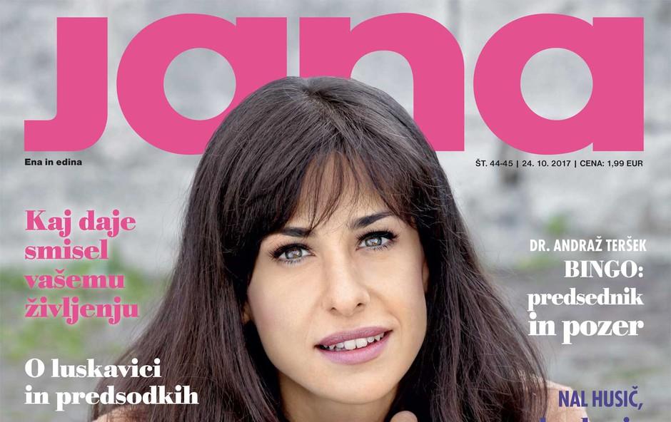Lara Komar ljubi Trst in obožuje Ljubljano! Več v novi Jani! (foto: Jana)