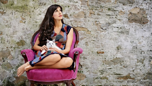 Lara Komar (Reka ljubezni) - iz anonimnosti med zvezde! (foto: Aleksandra Saša Prelesnik)