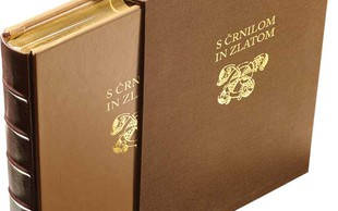Pri Cankarjevi založbi je izšla monografija S črnilom in zlatom
